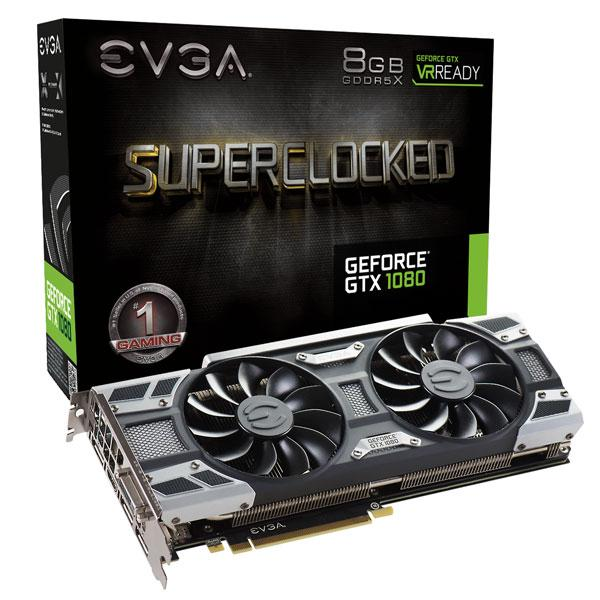 EVGA GTX 1080 8GB Superclocked ACX 3.0