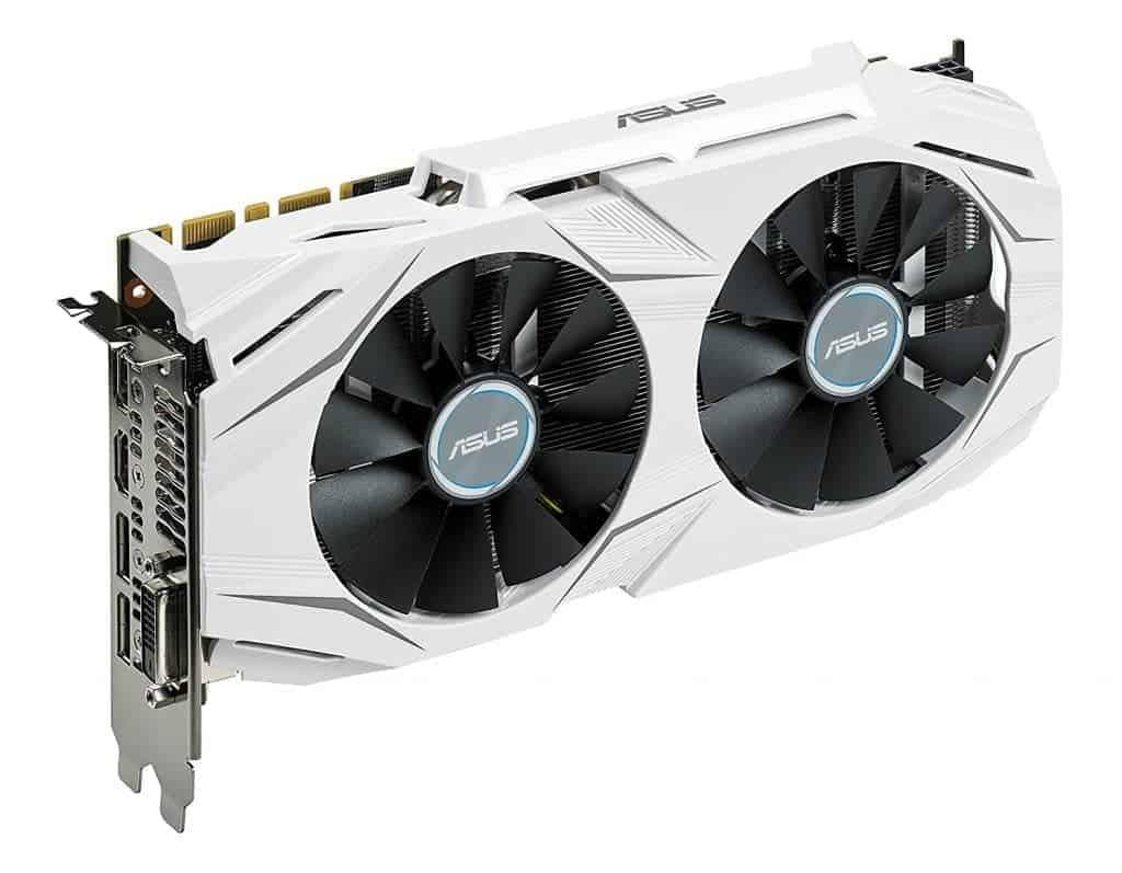 ASUS GTX 1070 O8GB Dual-fan OC Edition