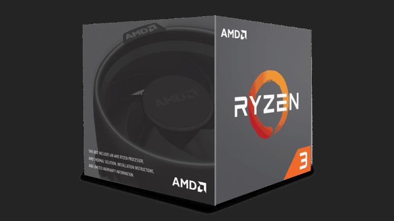 AMD Ryzen 3 1200