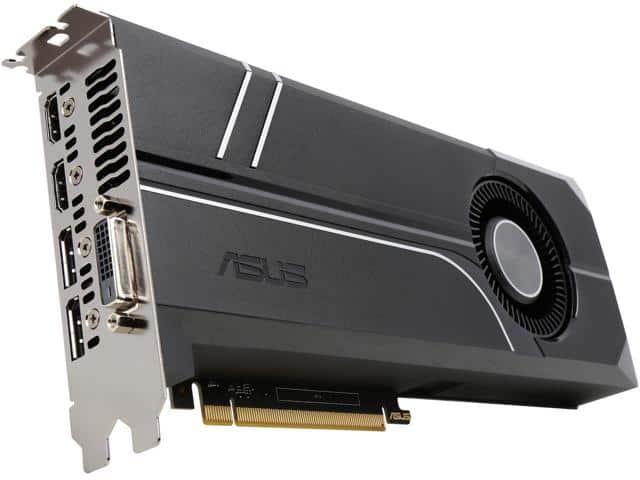 ASUS GeForce GTX 1060 6GB Turbo Edition