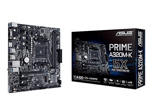 ASUS PRIME A320M-K AM4 Motherboard
