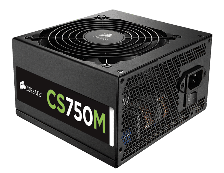 Corsair CSM 750W 80+ Gold-Certified Semi-Modular PSU