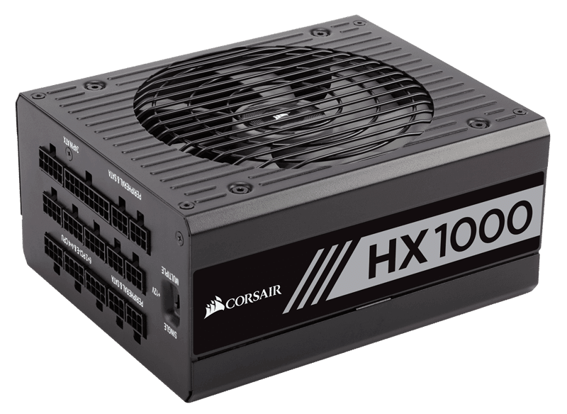 Corsair HX Platinum 1000W 80+ Platinum-Certified Fully-Modular PSU