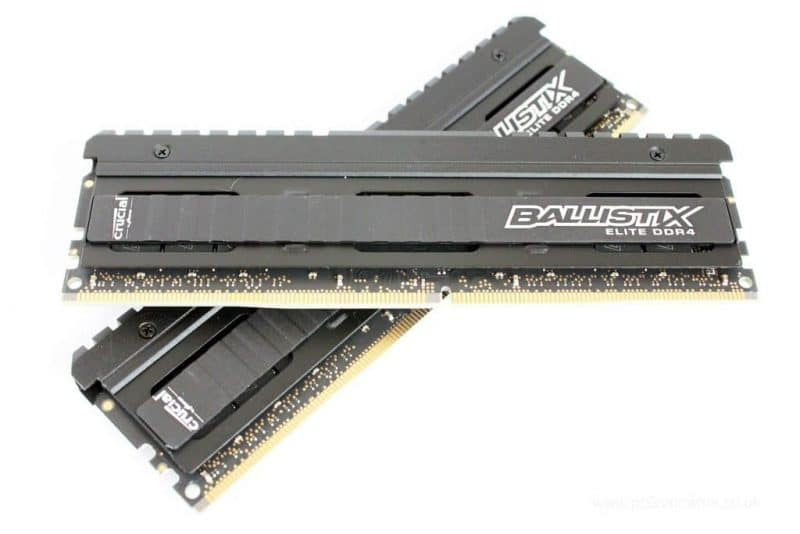 Ballistix Elite 8GB Single DDR4 2666