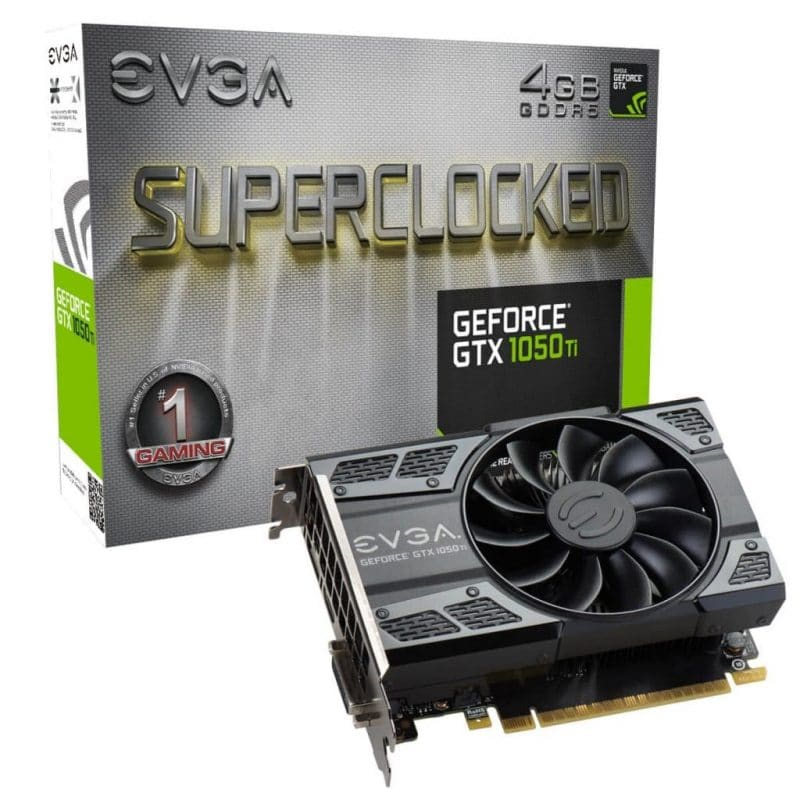 EVGA GeForce GTX 1050 Ti SC 4B