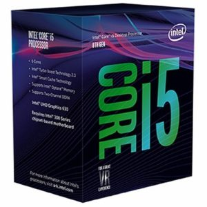 Intel Core i5-8400 Six-Core Processor