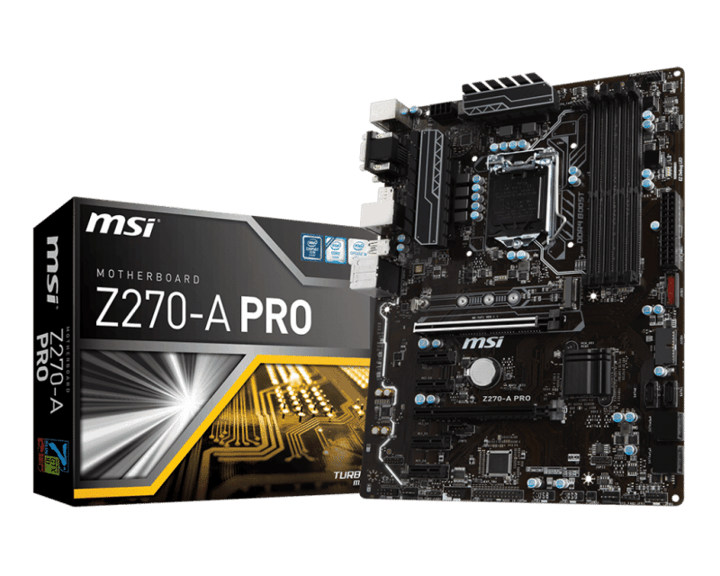 MSI Z270-A PRO Motherboard