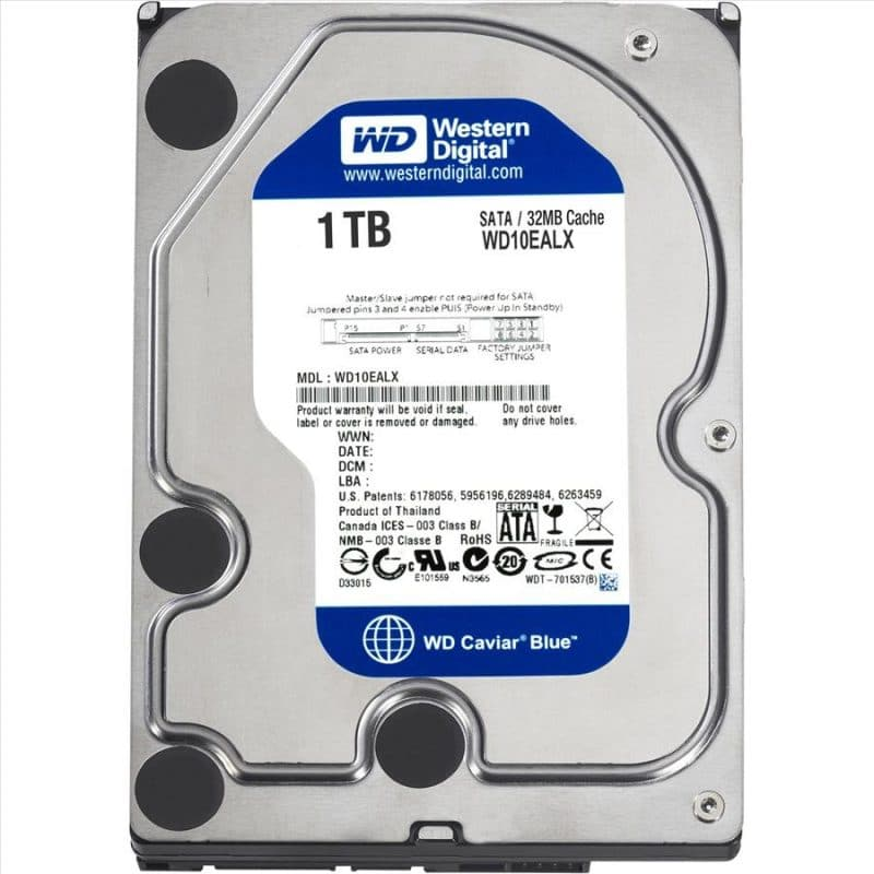 Western Digital 1 TB 7200RPM HDD