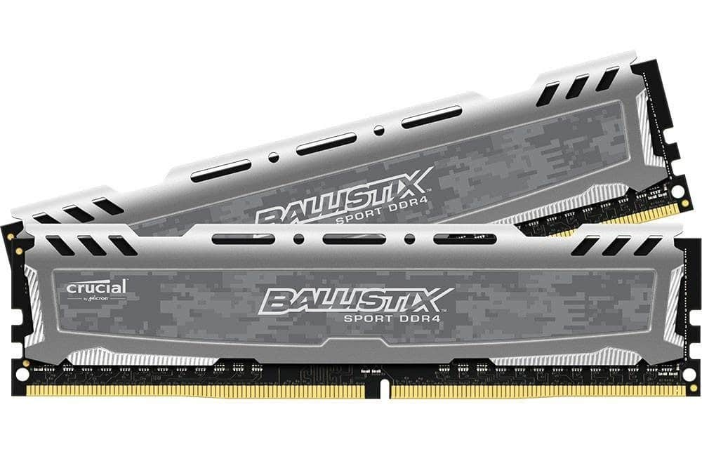 Ballistix Sport LT 8GB DDR2-2400 Kit