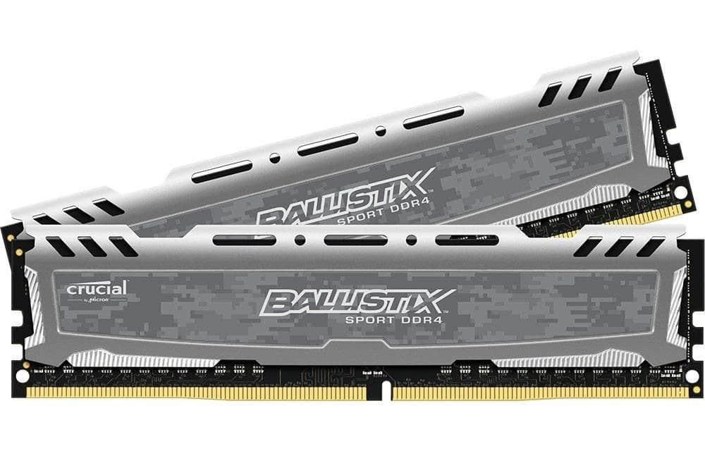 Ballistix Sport LT 8GB DDR2-2400 Kit