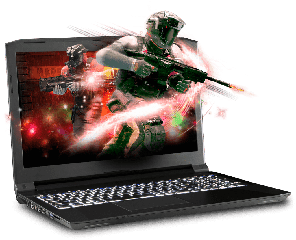 Prostar Clevo Gaming Laptop N855HJ