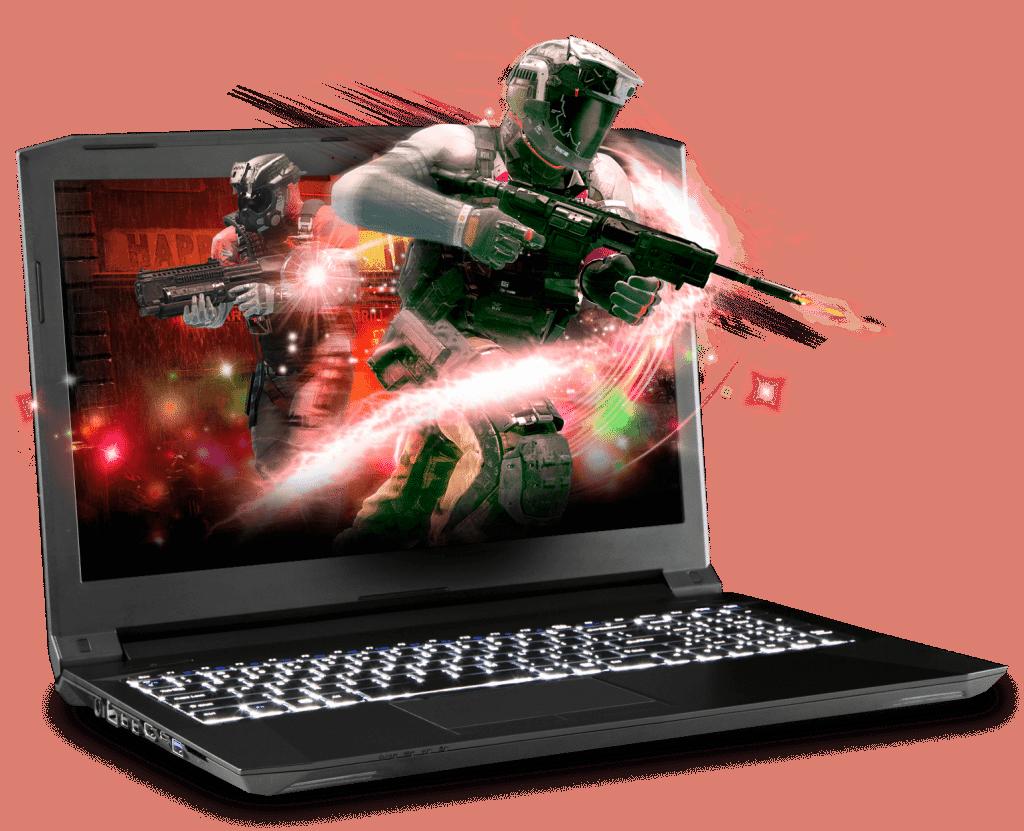 Prostar Clevo Gaming Laptop N855HJ