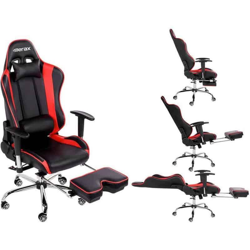 Merax High-Back Ergonomic Racing Chair