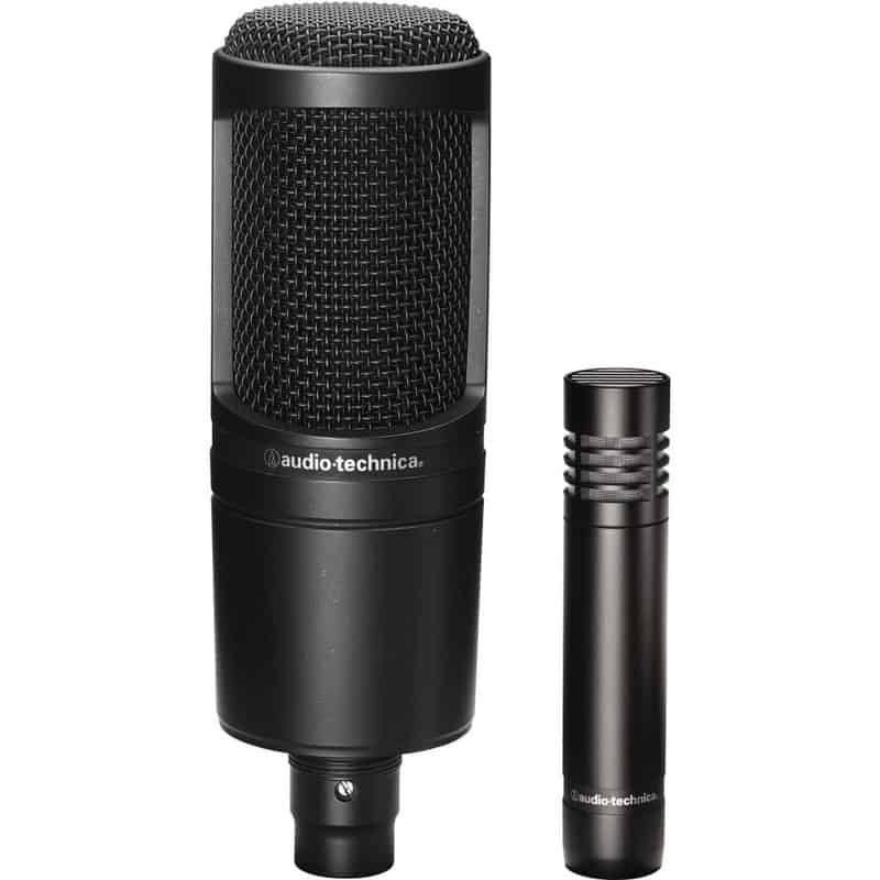Audio-Technica – AT2020 Cardioid Condenser Studio Microphone