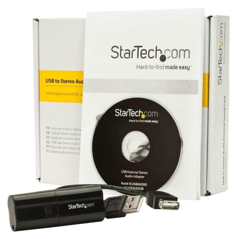 StarTech USB Audio Adapter