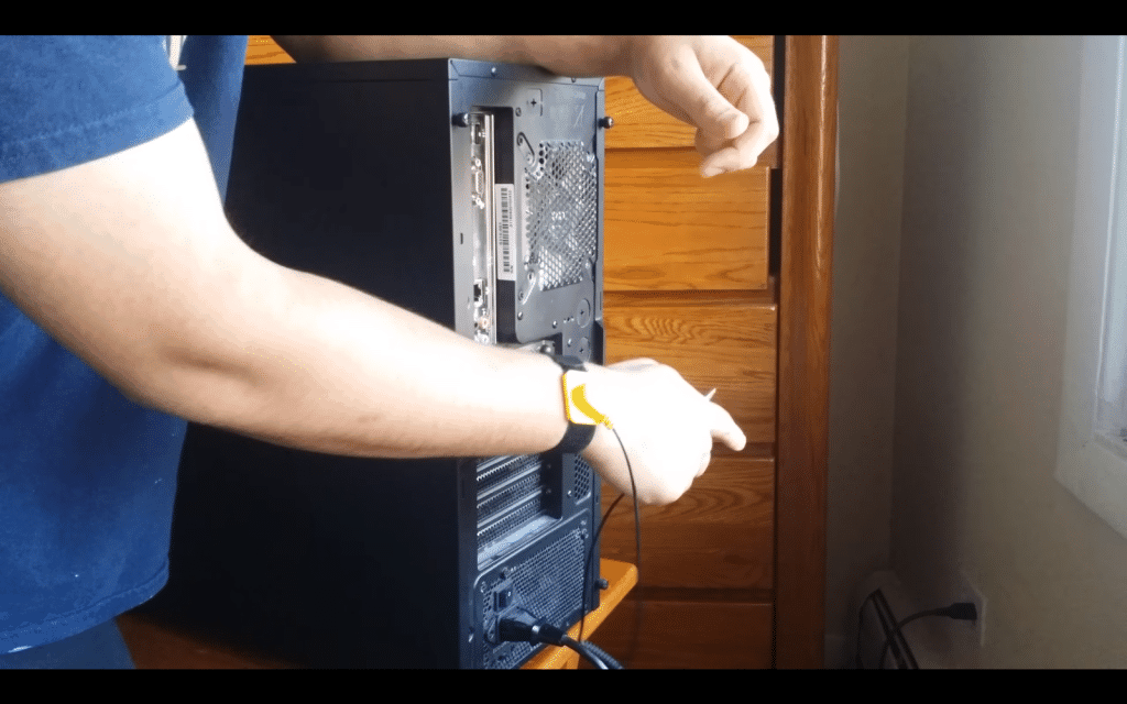 2. Turn your power supply OFF