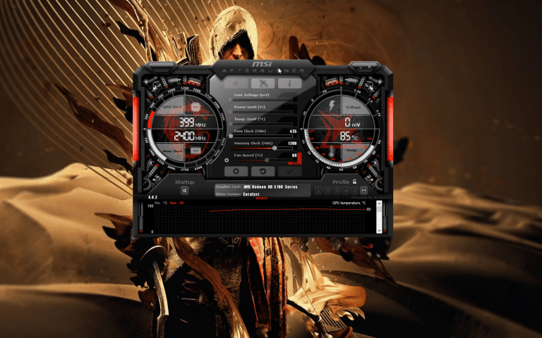 3. Open the MSI Afterburner