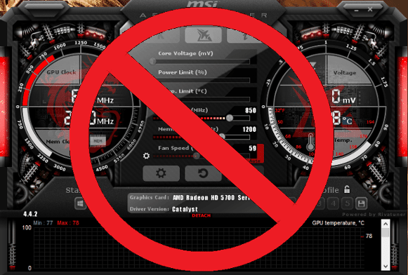 9. Disable Overclocking