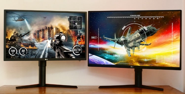 60Hz/120hz/144hz monitor for gaming