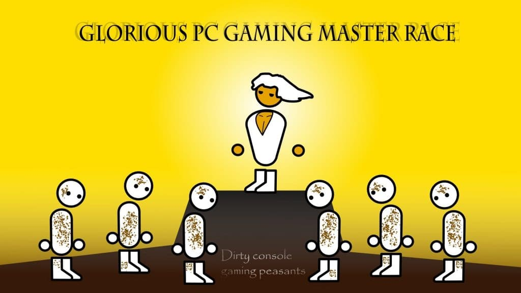 PC master race and console plesant