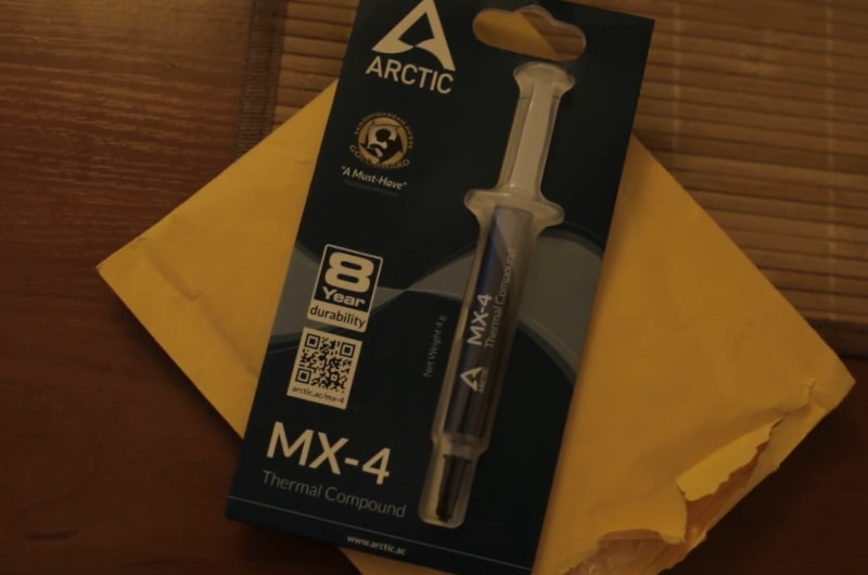 3. Arctic MX-4 unboxing