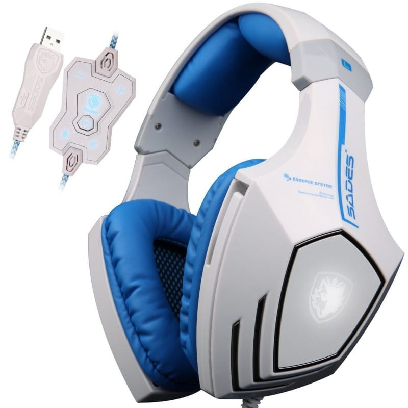 f85e9b7181a SADES A60 7.1. SADES A60 7.1. A USB gaming headset under 50 with 7.1  surround sound