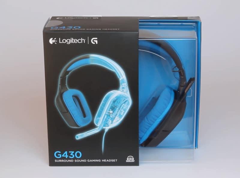3. Logitech G430 box