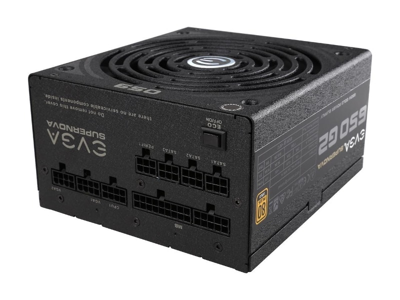 EVGA SuperNOVA 650 G2 80+ GOLD Certified