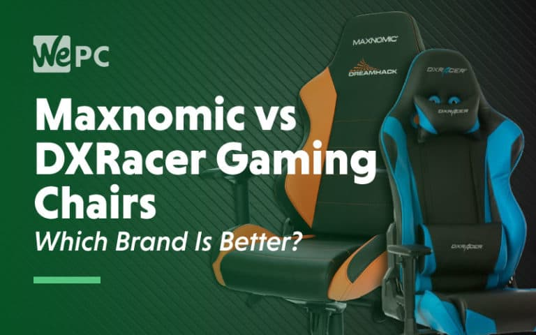 Maxnomix vs DCracer Gaming Chairs Which Brand is better