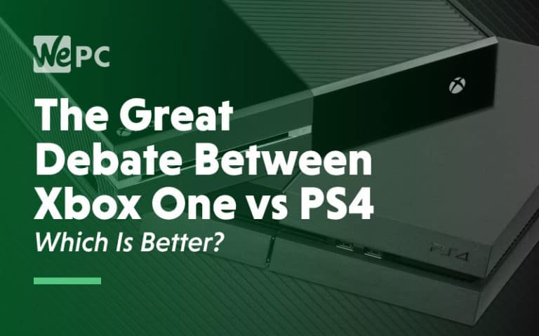 The Great debate between xbox one vs ps4 which one is better