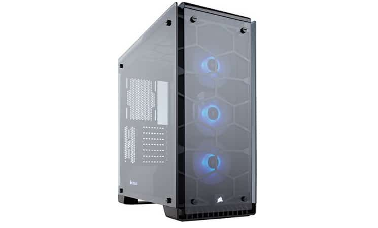 Corsair Crystal Series 570X unbox