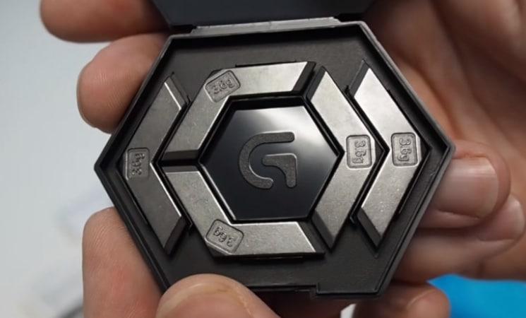 Logitech G502 Proteus Spectrum unbox 2