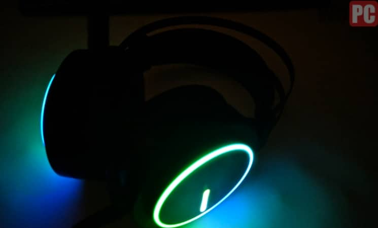 RGB headset light