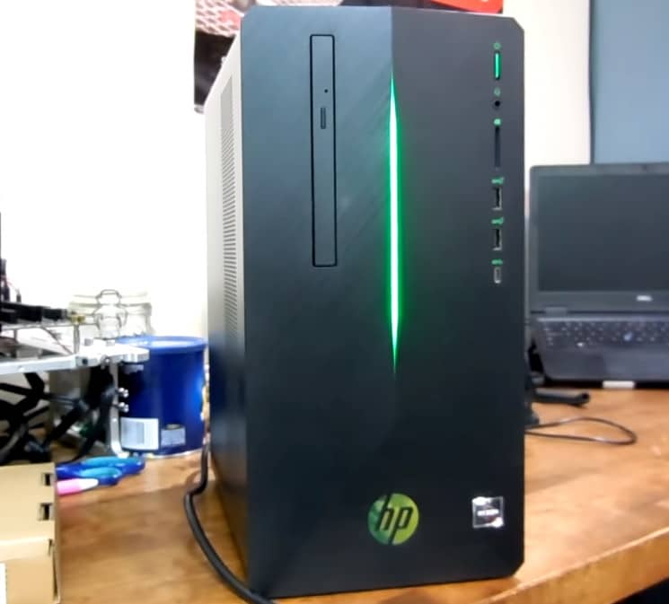 HP Pavilion Gaming unbox