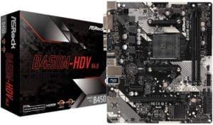 ASRock B450M HDV R4.0 AM4