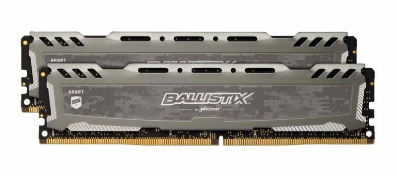 Ballistix Sport LT 8GB Kit (4GBx2) DDR4 2666 RAM
