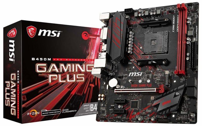 MSI B450M Performance Gaming Micro-ATX Motherboard