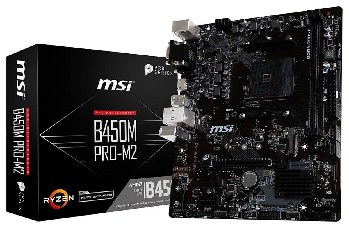 MSI Performance Gaming B450M PRO M2 Micro-ATX Motherboard