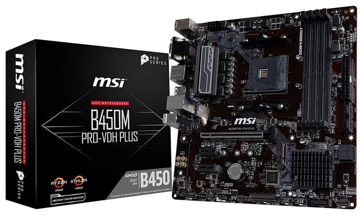 MSI ProSeries B450M PRO-VDH Motherboard