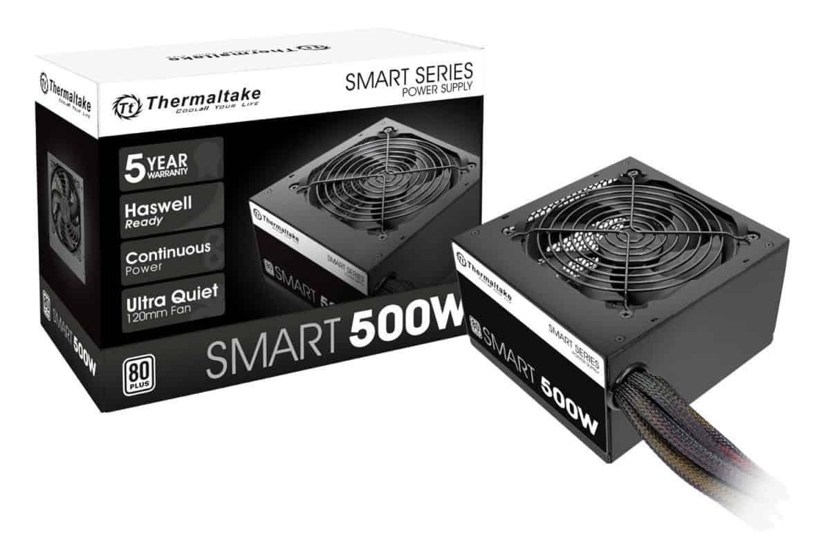 Thermaltake Smart 500W 80+ White Certified PSU