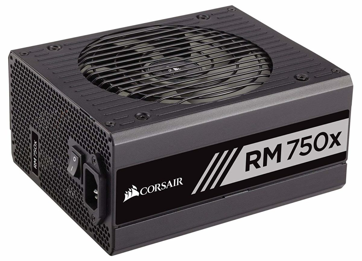 Corsair RMX 80+ Gold 750W, Fully Modular PSU
