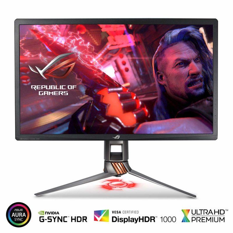 ASUS PG27UQ 27 Inch ROG Swift 4K HDR