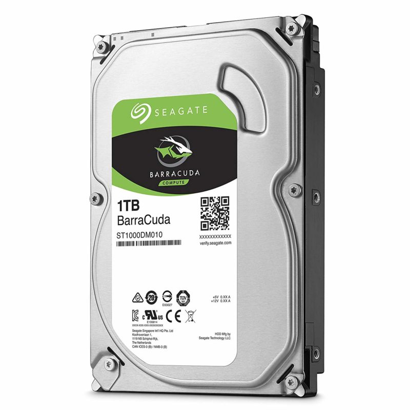 Seagate BarraCuda 7200RPM Hard Drive 1TB SATA