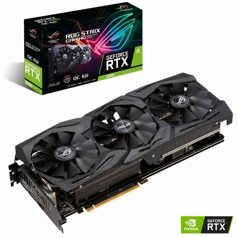 Asus Rog Strix GeForce RTX 2060 6GB OC
