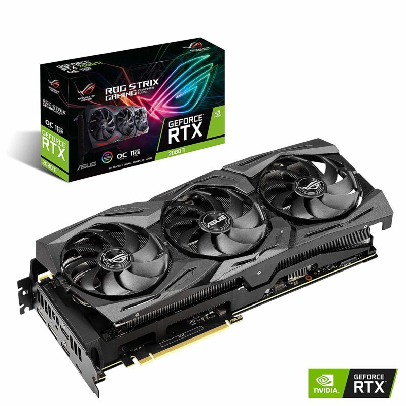 ASUS ROG Strix GeForce RTX 2080TI Overclocked 11G GDDR6