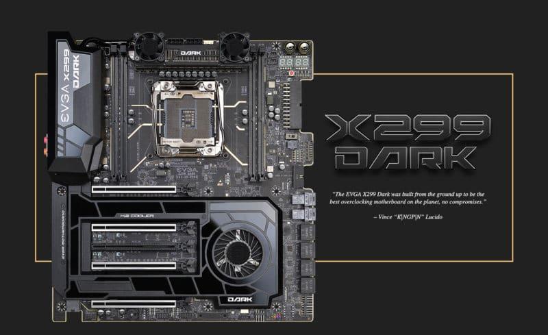 EVGA X299 Dark SR 3 Motherboard