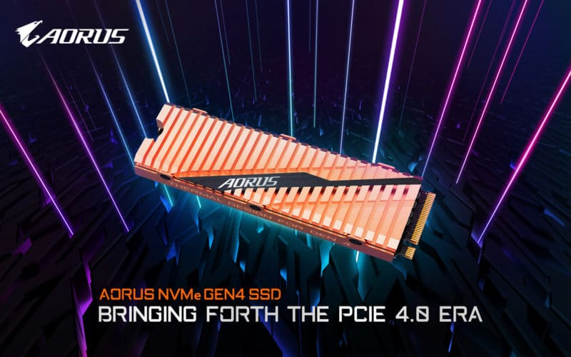 Gigabyte AORUS NVMe SSD
