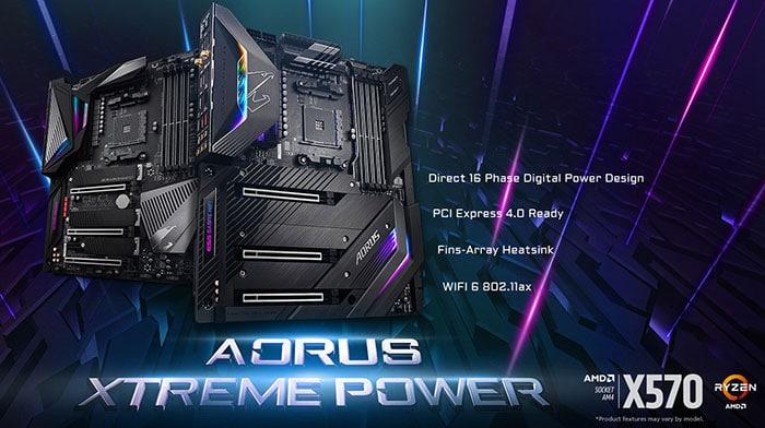 Gigabyte X570 AORUS motherboard