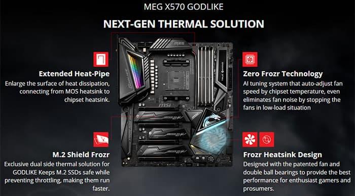 MSI X570 Godlike Motherboard