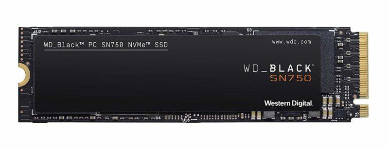 WD Black SN750 NVMe PCIe
